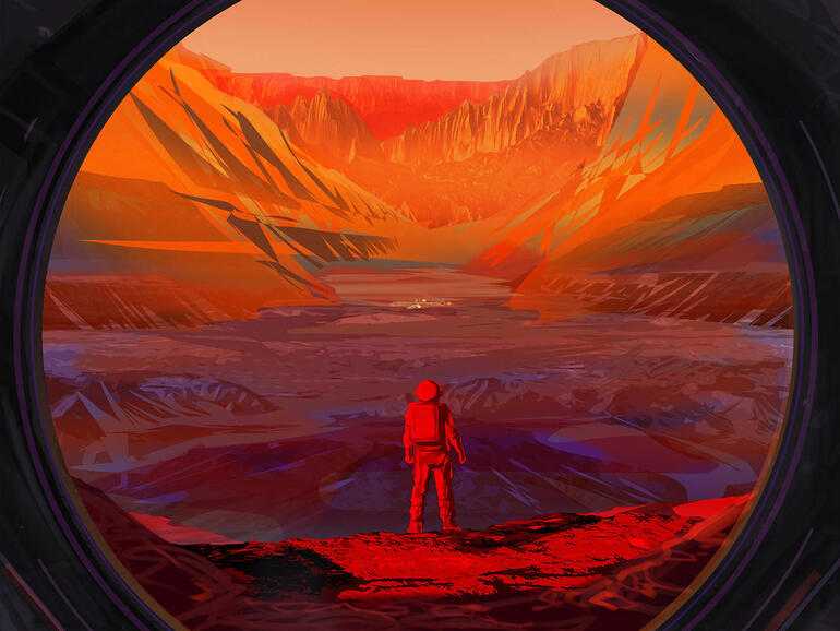 AI spacefarers and cosmic testbeds: Robust robotic systems forge path for human space exploration