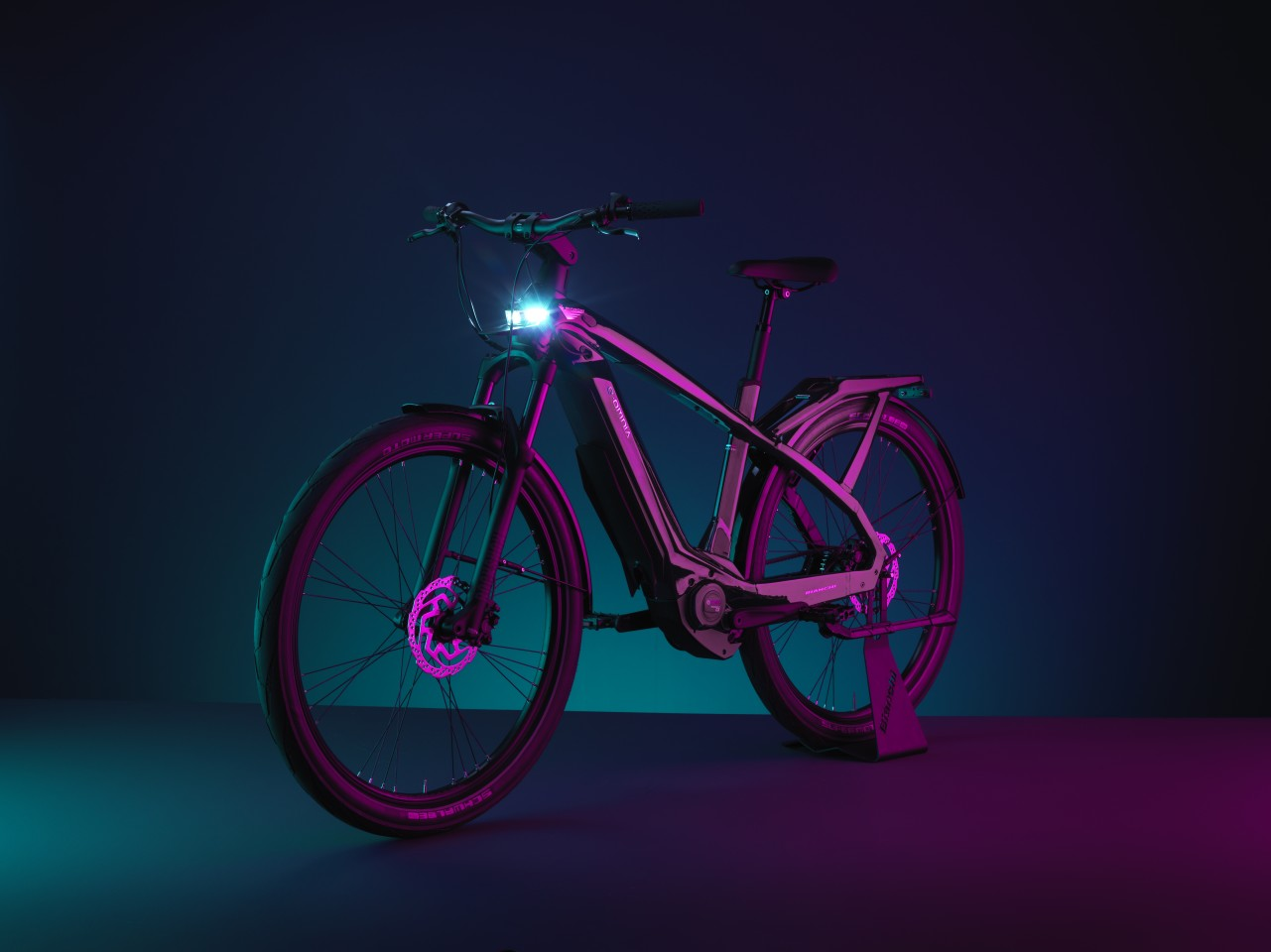 The T-Type ebikes are suited to both city commutes and long road trips