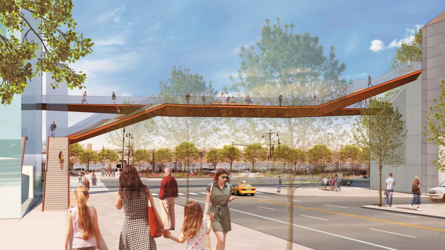 The new High Line extension will reportedly measure 1,200 ft (365 m) in length