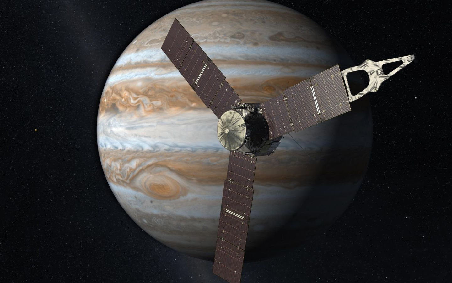 Juno will be crashed into Jupiter at the conclusion of its mission, due for July 2021