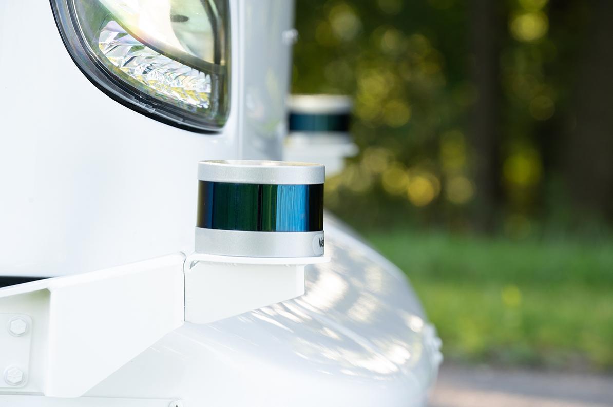Autonomous system sensors include cameras, LiDAR, GPS and radars