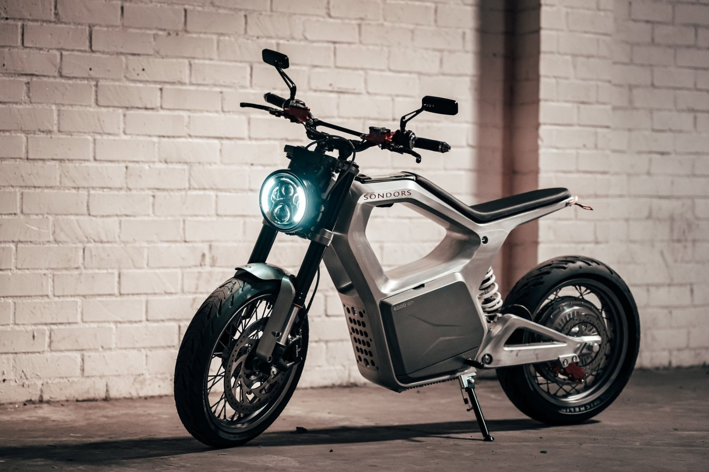 The Metacycle is the first electric motorcycle from Sondors