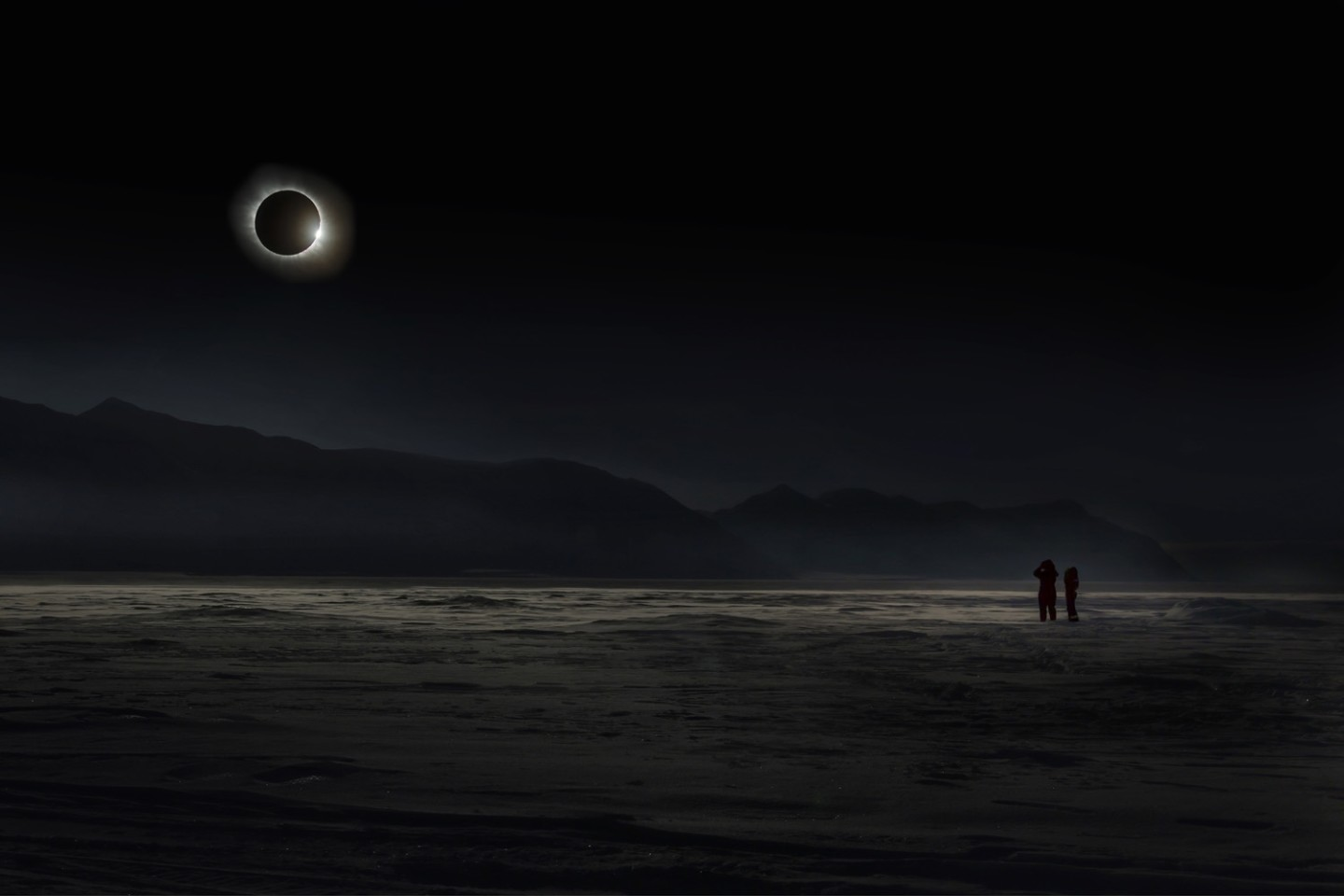 Vladimir Alekseev of Russia, the overall winner of this year's TPOTY, caught this image during a solar eclipse on the Norwegian island of Svalbard