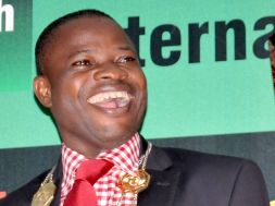 Professor Aderounmu of OAU, who is also new President of NCS