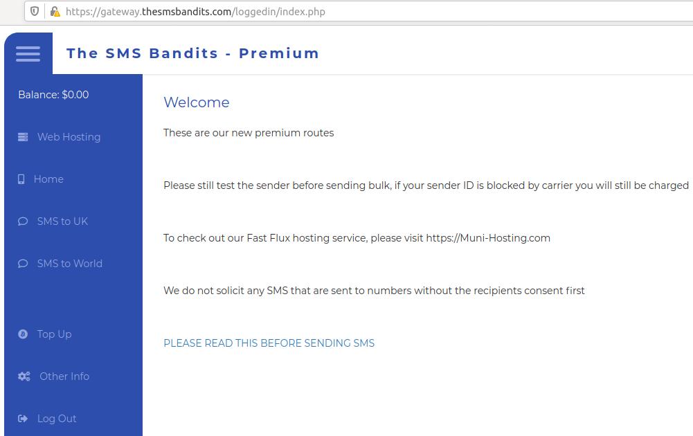 U.K. Arrest in 'SMS Bandits' Phishing Service