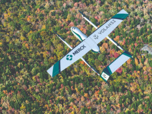 Drone vaccine delivery? Agile aircraft reimagine cold-chain logistics in rural North Carolina