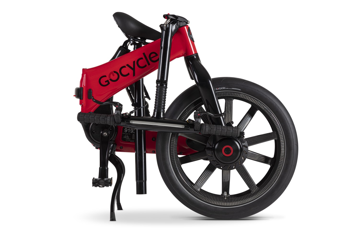 Depending on the model, the Gocycle G4 ebikes are available in color choices of white, gloss black, matte black, red, gray or blue