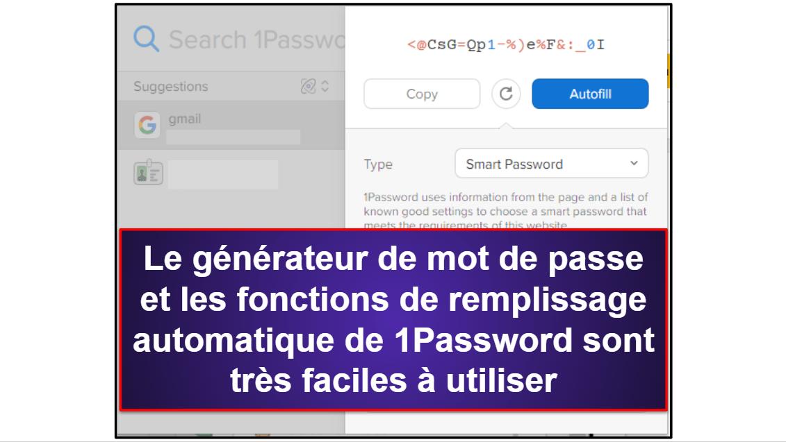 1Password vs LastPass: fonctionnalités de base