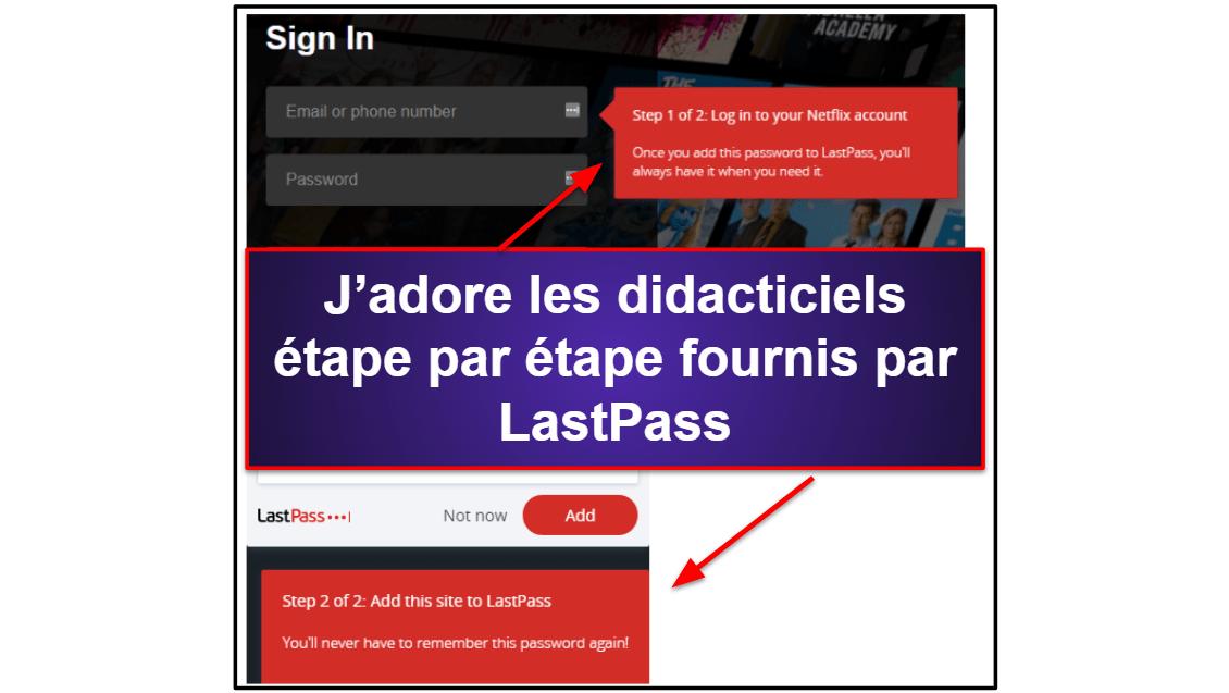 1Password vs LastPass: facilité d'utilisation
