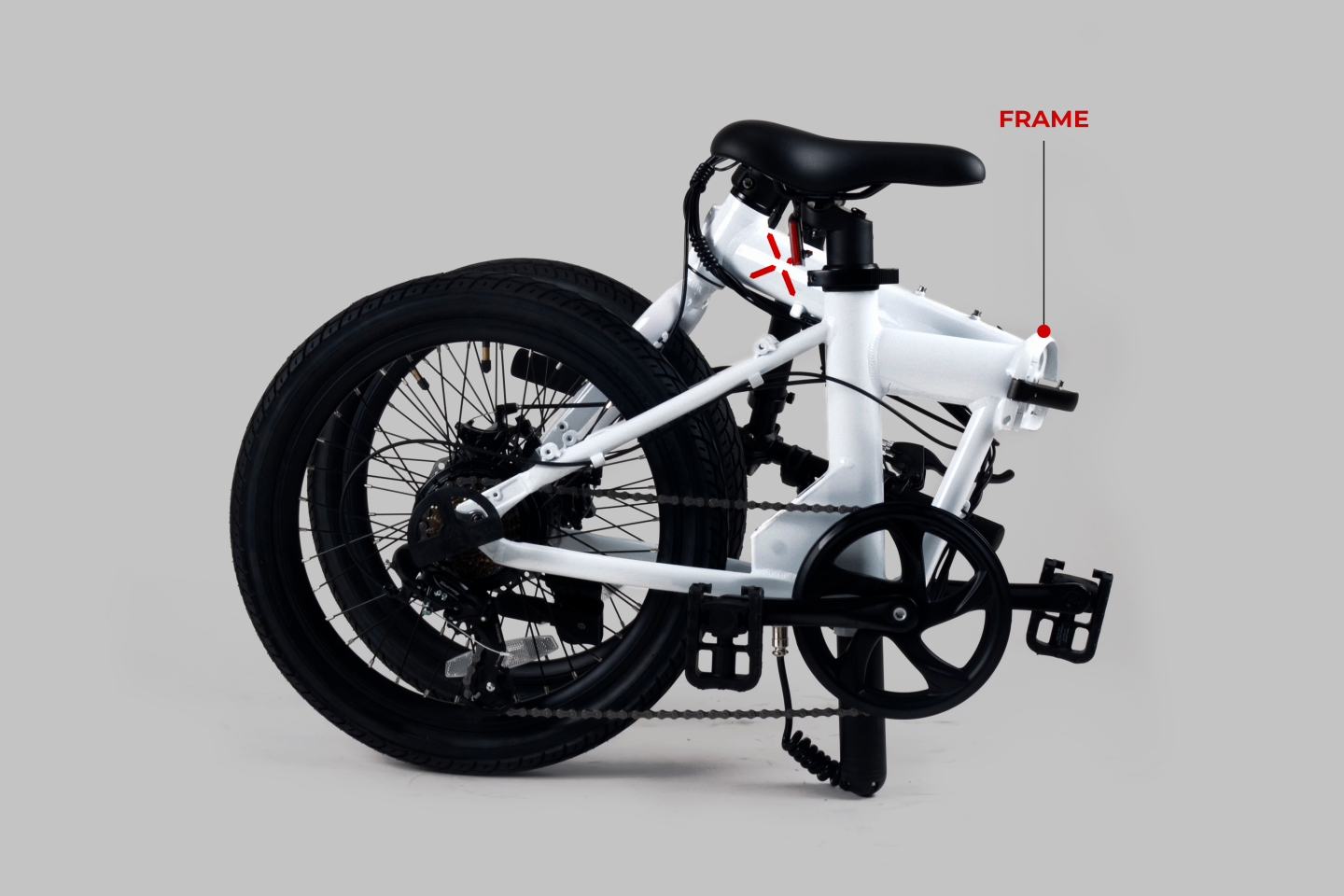 X Mobility Motors has not revealed its folded dimensions, but the H1 looks like a compact between-ride haul