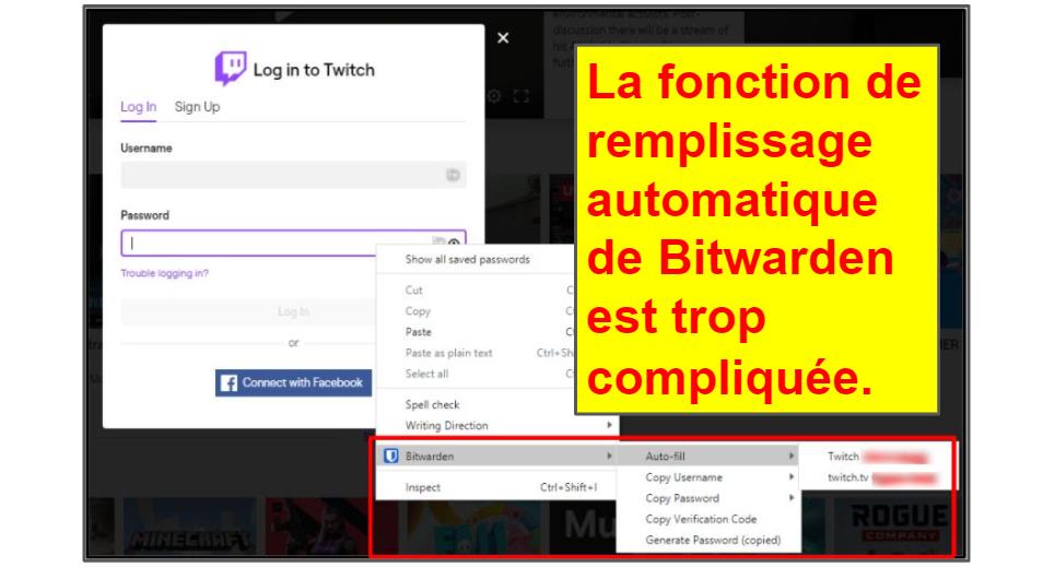 Comparatif LastPass/Bitwarden : Fonctionnalités de base