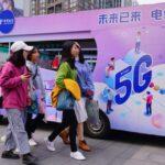 China dominates global 5G base station count