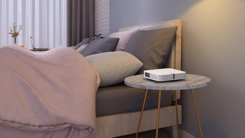 The Elfin rocks built-in Harman Kardon speakers for all-in-one multimedia ease