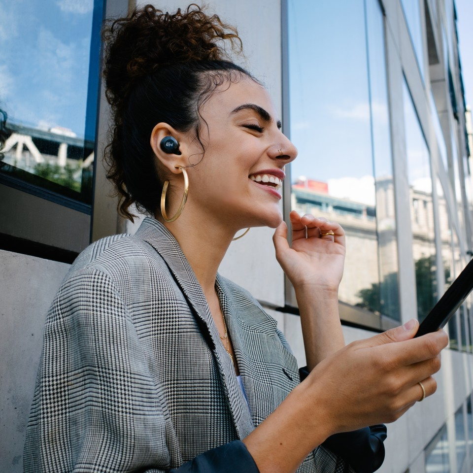"""The T5 II True Wireless ANC earphones feature Dirac HD Sound, a """"state-of-the-art digital audio performance enhancement technology that optimizes the T5's sound signature by correcting impulse and magnitude frequency response"""""""