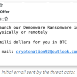 Read more about the article Wanted: Disgruntled Employees to Deploy Ransomware